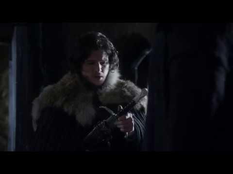 Волк подходит тебе больше чем медведьЛорд командующий Мормонт дарит Джону Длинный Коготь