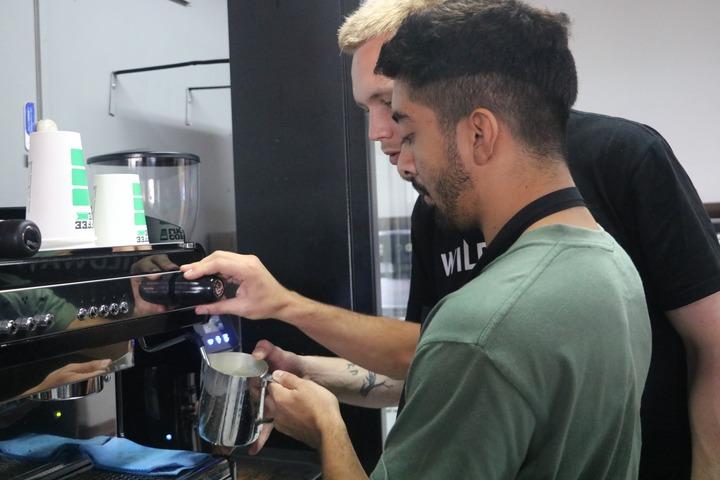 шеф-бариста Coffee Like обучает бариста в Коста-Рике