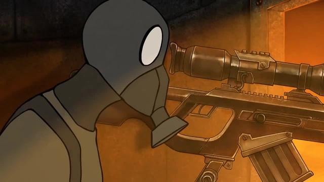 Стрелок - постапокалиптический короткометражный мультфильм 2 coub