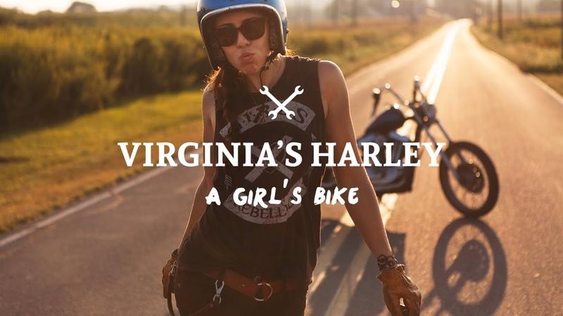 Virginia's Harley: a Girl's Bike