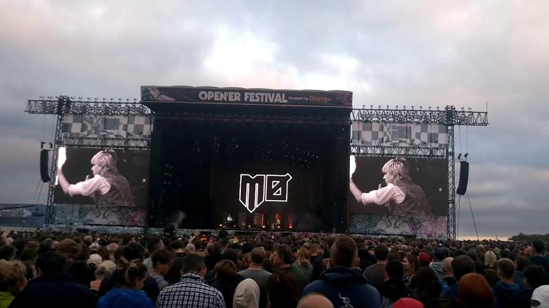 MØ - Way Down on Open'er Festival 2018 (14/21)