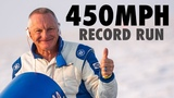 Danny Thompson's 450mph Speed Week Record Run