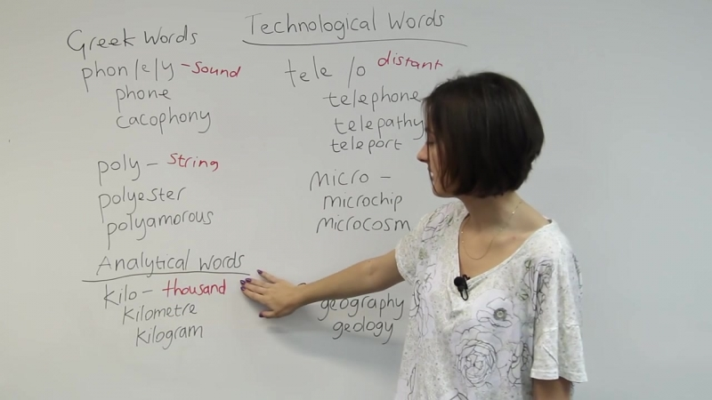 How to understand new English vocabulary by learning roots!