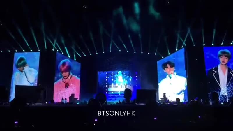 190119 전하지 못한 진심 The Truth Untold BTS(방탄소년단) Love Yourself Tour in Singapore