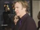 Алан Рикман на премьере фильма Большие надежды