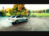 Mercedes C63 AMG Drive in the City Kickdown Acceleration Onboard V8 Sound Beschl_Full-HD_60fps.mp4