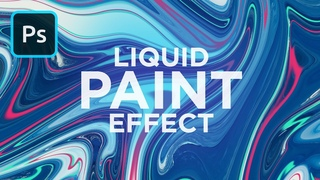 Liquid Paint Marbling Effect in Photoshop