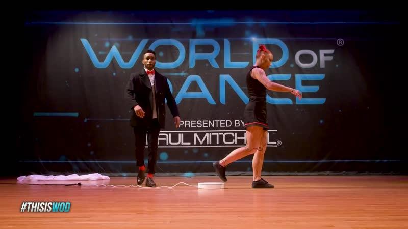 B-Dash Jaja Vankova   FrontRow   World of Dance Boston 2017   WODBOS17