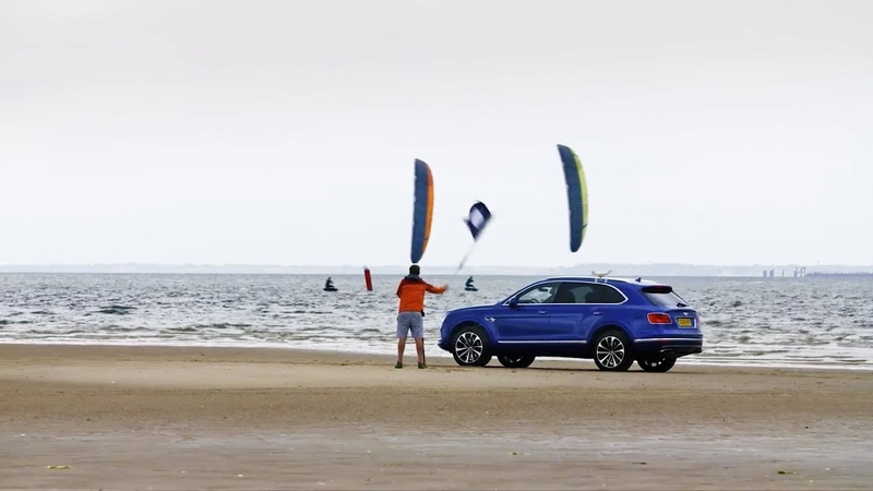 The Unfair Advantage: The Bentley Bentayga V8 vs Two Kitesurfing World Champions