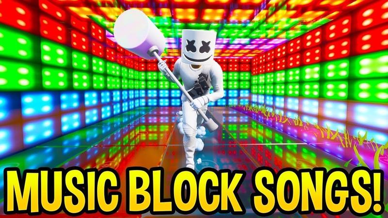 *AMAZING* Fortnite SONG CREATIONS Using the *NEW* Music Blocks Creative Mode