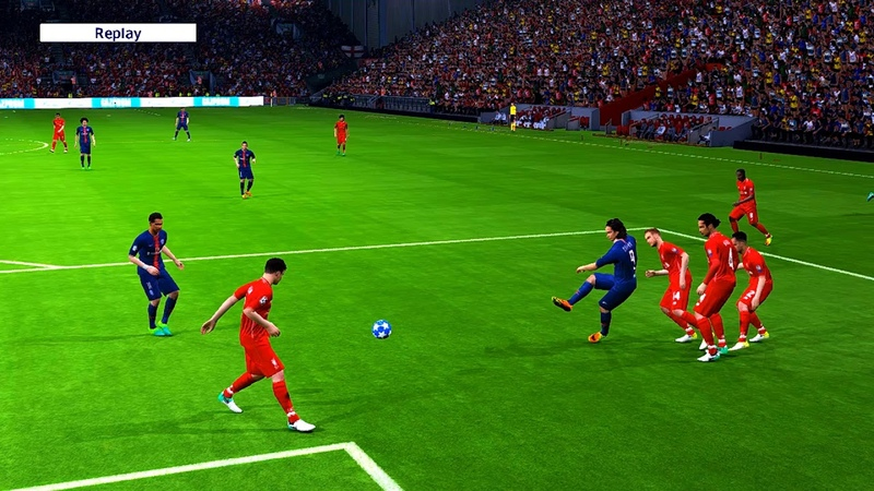Liverpool vs PSG | UEFA Champions League 2018 | Best Legacy Hard Gameplay