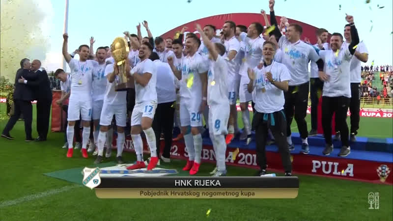 Dinamo - Rijeka 1-3, Sazetak (HR KUP 2018/19, finale), 22.05.2019. Full HD