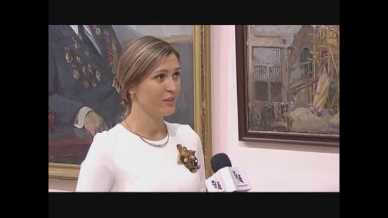 Выставка Опалённые войной в ХМ Арт-Донбасс.