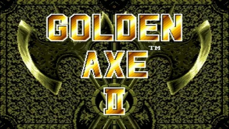 Golden Axe II (SEGA) Прохождение