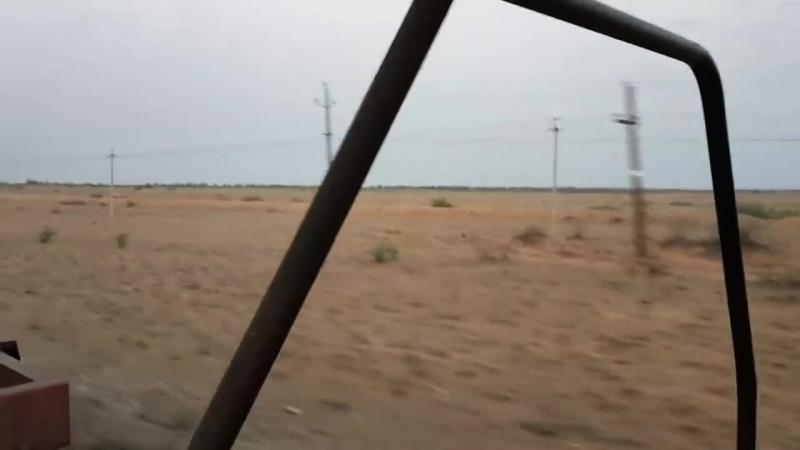 На товарняке в Дагестан/Попал в песчаную бурю/Как меня встретили в Дагестане
