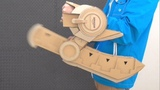 Yu-Gi-Oh!デュエルディスクを作るぜ!!/How To Make Duel Disk with Cardboard/遊戯王デュエルモンスター&#