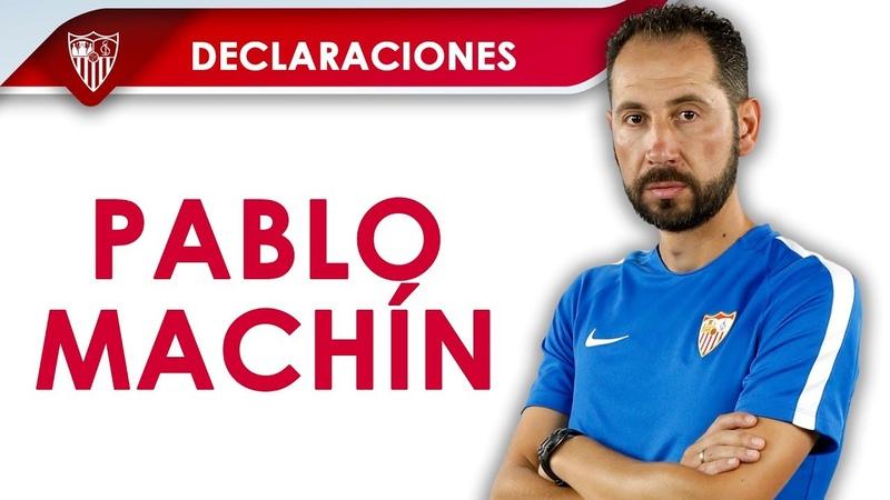 Pablo Machín: El equipo se ha tomado con seriedad la eliminatoria