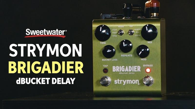 Strymon Brigadier Delay Pedal Review