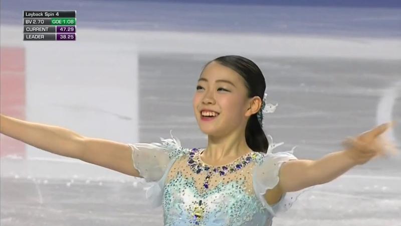 (NEW WR) Rika KIHIRA 紀平梨花 .SP -Grand Prix Final 2018