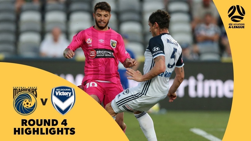 Hyundai A-League 201718 Round 4 Central Coast Mariners 1 - 1 Melbourne Victory