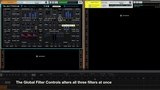Electrons Synth Filters Demo