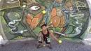 Carlos Araya Charchaso malabarismo con pelotas