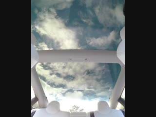 Overhead views from a Model 3