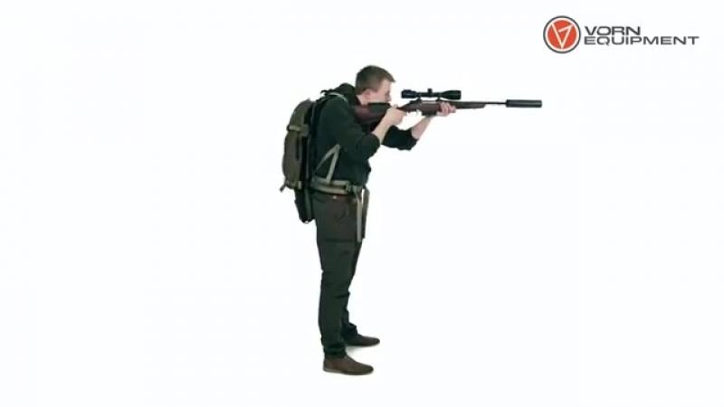 Рюкзак для переноски длинноствольного оружия от компании Vorn Equipment
