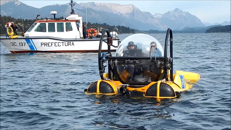 SEAmagine Submarine Diving in Patagonia Argentina with the Coast Guard