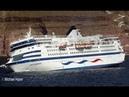 Sinking Cruise Ship - April 5, 2007 - Santorini Greece