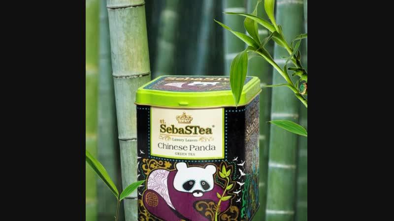 🐼 Зелёный чай Китайская панда из коллекции Этническая