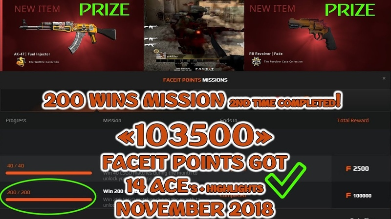 100 000 FACEIT POINTS @ Another 200 WINS mission DONE 120$! Moments of the Week Ep. 21 @ x14 ACE's!