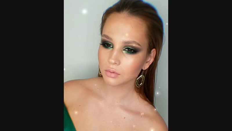 Нефритовый макияж. Визажист Юлия Устинович. Магнитогорск