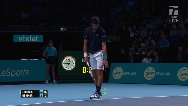 Djokovic def Nishikori London 2016