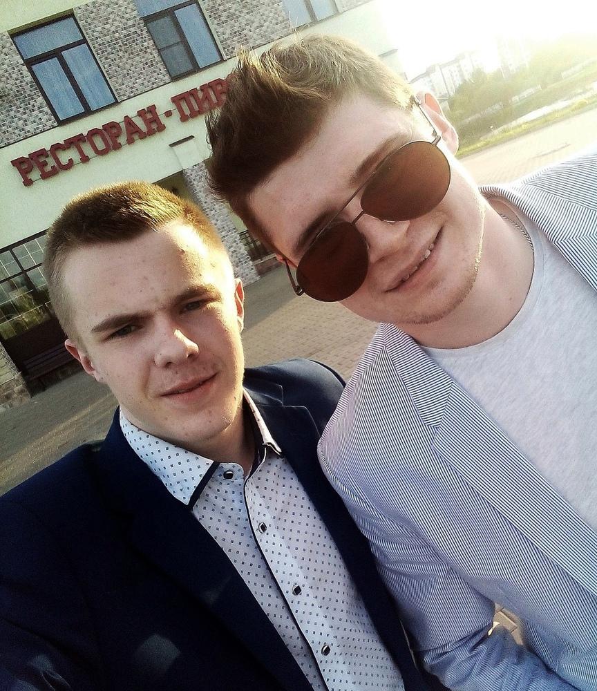 Михаил Бучкин и Роман Аниськович