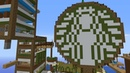 I forced 200 Minecraft Players to turn an island into Starbucks