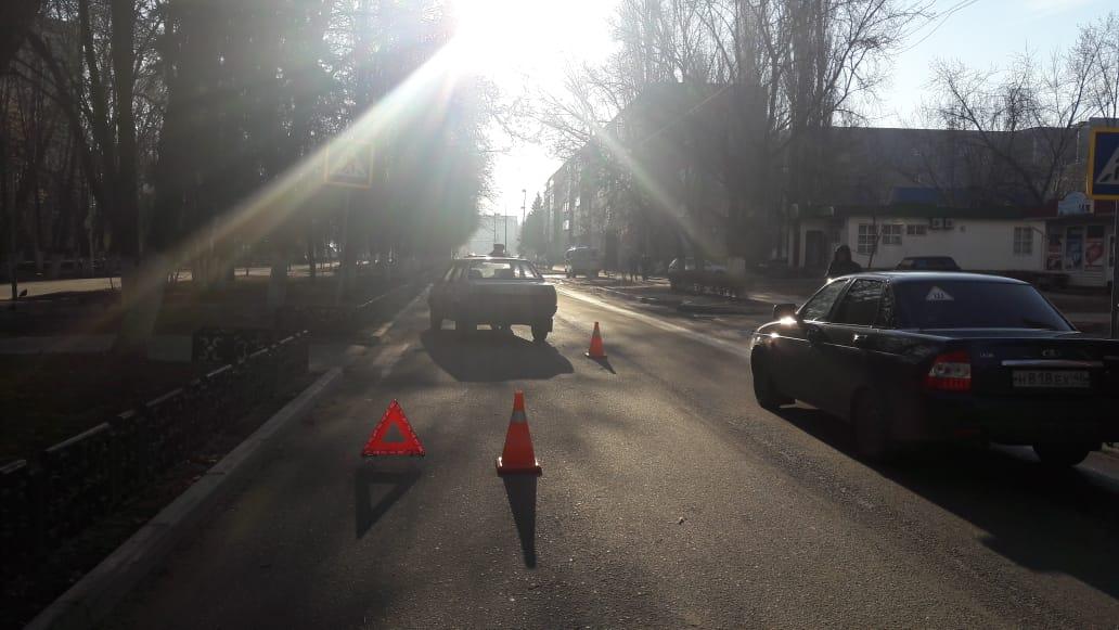 В авариях на дорогах Курской области пострадали сразу два пешехода