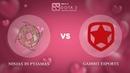 Ninjas in Pyjamas vs Gambit Esports - RU @Map1 | Dota 2 Valentine Madness | WePlay!