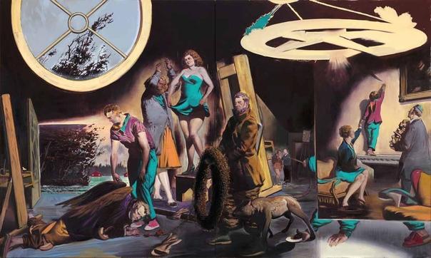 Нео Раух / Neo Rauch ( 1960, Лейпциг, Германия ). 1981 - 1986 изучал живопись в колледже графики и книжного искусства в Лейпциге (Hochschule für Grafi und Buchunst Leipzig) у профессора Arno