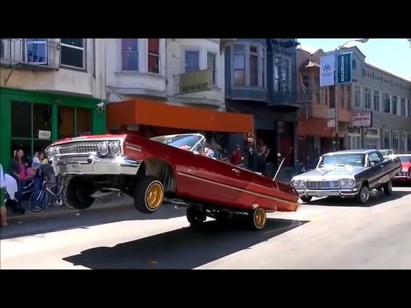 Bay area Lowrider Takeover Hoppin