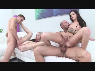 Angel blonde, jessica swan - ass fucking action sz441 [2014, gonzo dp, 720p]
