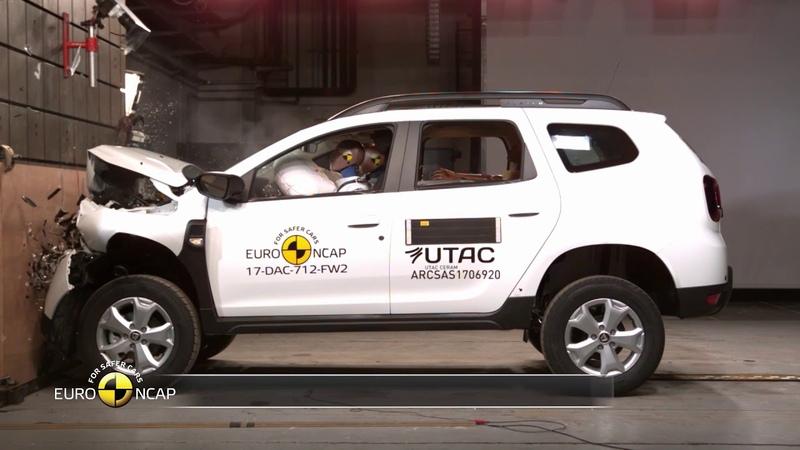 Dacia Duster Crash Test 2018 Safety Rating Euro NCap