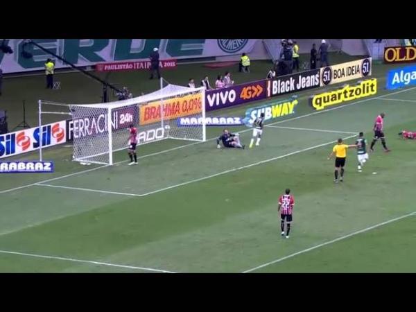 Palmeiras 3 x 0 São Paulo - Gols - Campeonato Paulista 2015 (2503) HD
