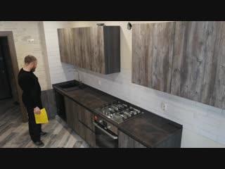 Кухня без ручек