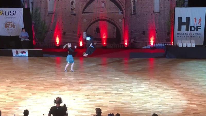 Helsingborg Nordic Championships 2018 Boogie Woogie Main class OLSEN BYE Sondre GEORGIIEVSKA Tatia
