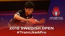 Tomokazu Harimoto Yuto Kizukuri Training 2018 ITTF World Tour Swedish Open