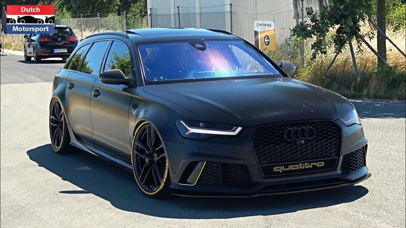 Audi RS7, R8 RS6 Leaving RS Performance Day 2018! - Manual R8 V10, ABT RS6, RS6 Milltek,...