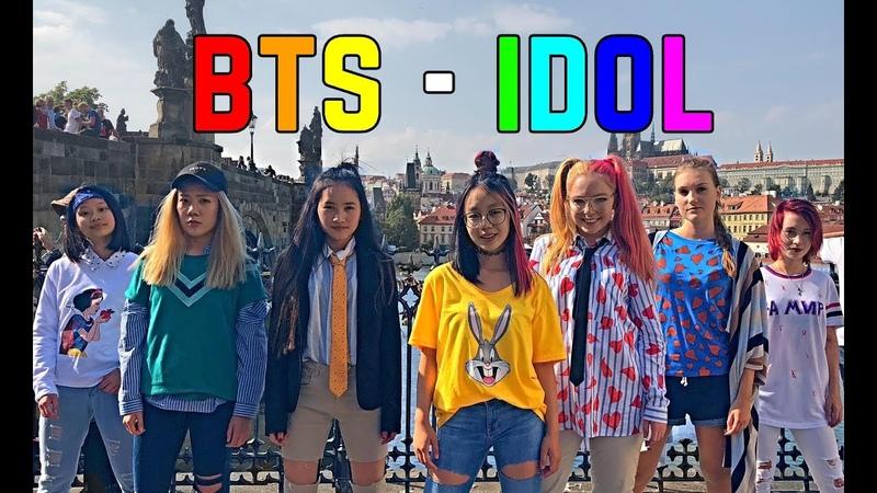 [K-POP IN PUBLIC - Prague] BTS (방탄소년단) - IDOL (아이돌)   Monster Crew dance cover