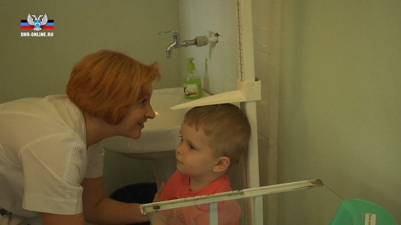 Дети прифронтового Кировского района прошли централизованный медицинский осмотр