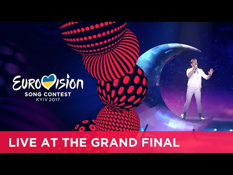 Nathan Trent Running On Air Austria LIVE at the Grand Final of the 2017 Eurovision Song Contest
